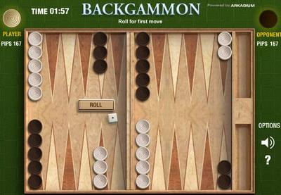 بازی تخته نرد در سایت صفحه شطرنج