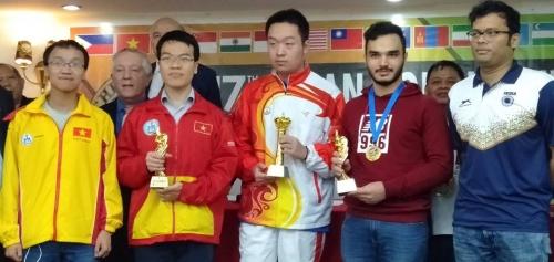 محمد امین طباطبایی نایب قهرمان آسیا