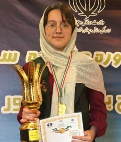 میترا اصغرزاده قهرمان جشنواره سراسری بانوان کشور