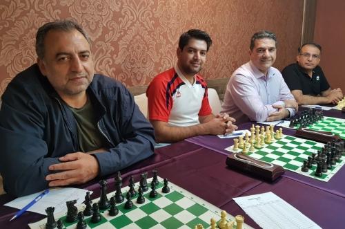 تیم تهران قهرمان جشنواه بانک ملی - مشهد