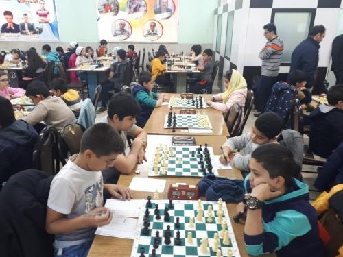 دومین دوره مسابقات شطرنج تیمی زیر 14 سال دستجات آزاد و مدارس کشور
