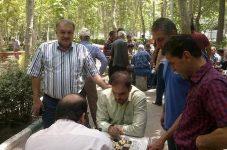 مسابقات برق آسا به مناسبت ماه مبارک رمضان در محوطه باز پارک فدک