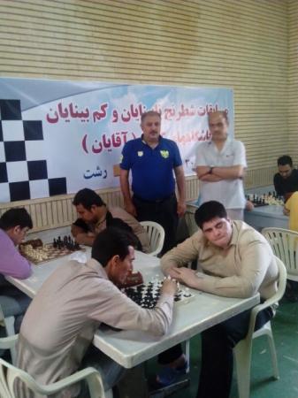 تیم رشت قهرمان رقابت های نابینایان و کم بینایان کشور شد