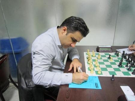 محمد رضا افشاری قهرمان جام مهر فدراسیون شطرنج شد