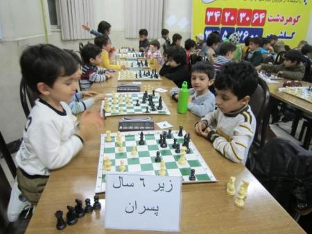 پایان مسابقات رده های سنی استان البرز