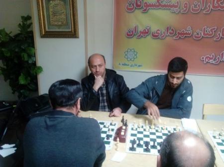 فینال مسابقات شطرنج کارکنان شهرداری