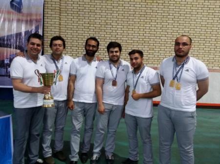 تیم استان تهران فاتح مسابقات سراسری شطرنج دانشجویان پسر دانشگاه آزاد شد