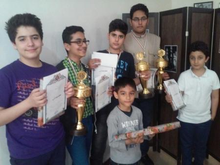 محمد نظام هاشمی قهرمان جام نوروز آکادمی شطرنج آیندگان
