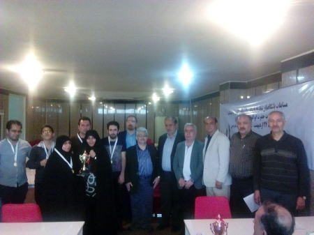 تیم منطقه آزاد اروند قهرمان شطرنج نابینایان و کم بینایان کشور شد