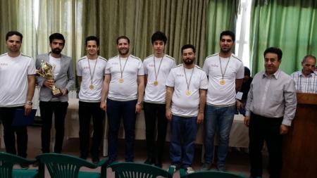رشت قهرمان اولین دوره مسابقات تیمی شهرهای ایران شد